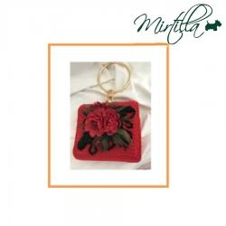 Scheda Tutorial Borsa Chloe in rosso con fiori