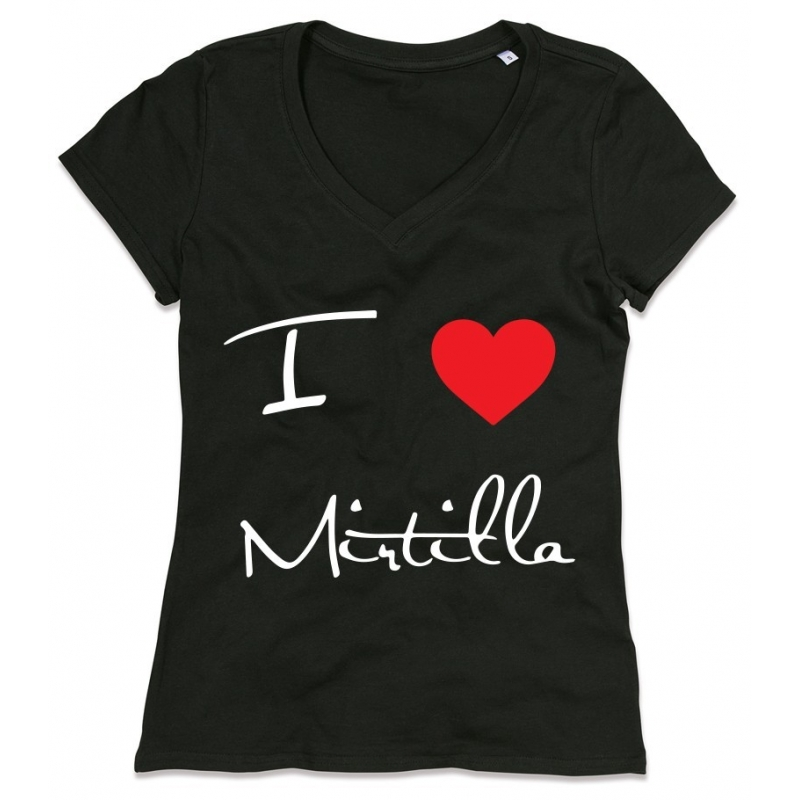 T-SHIRT I LOVE MIRTILLA