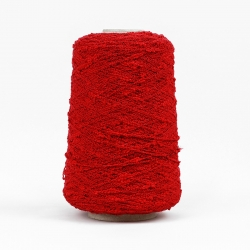 Bouclè Yarn - Red
