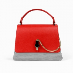 Moschino Bag Flap - Red -...