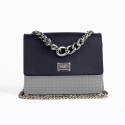 Miu Bag Flap - Blue -...
