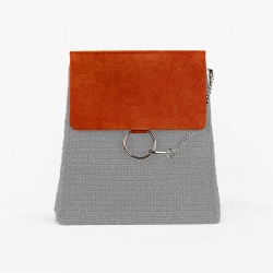 Chloè Bag Flap - Orange -...