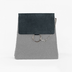 Chloè Bag Flap - Grey -...