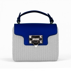 Valentino Bag Flap - Blue -...