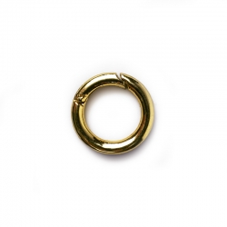 A020 - Snap-hook ring - Gold