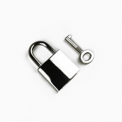 A008 - Padlock with key