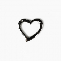 A064 - Heart shaped snap-hook