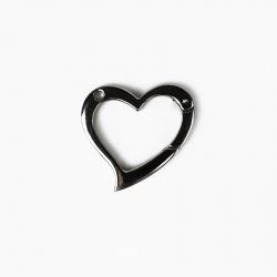 Moschettone a forma di cuore