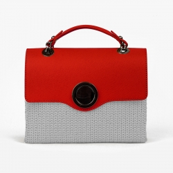 Cerchio Bag Flap - Red -...