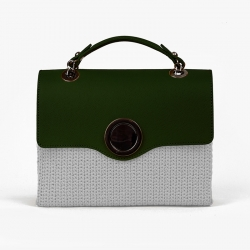Cerchio Bag Flap - Green -...