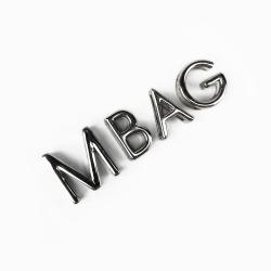 Steel MBAG letters
