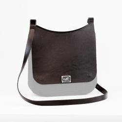 Plain Sella Bag Flap - Brown