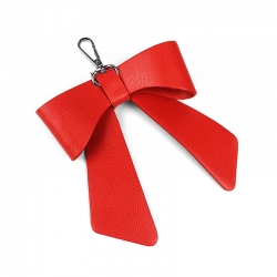 Ribbon - Red - Genuine Leather