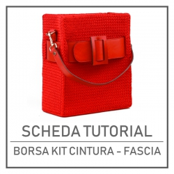 Tutorial Card For Bag with...