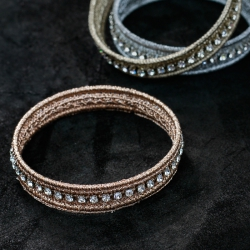 Kit Bracciale Bangle con Strass