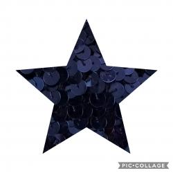 Passamaneria Paiettes Blu