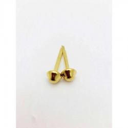 A029-metal feet- gold