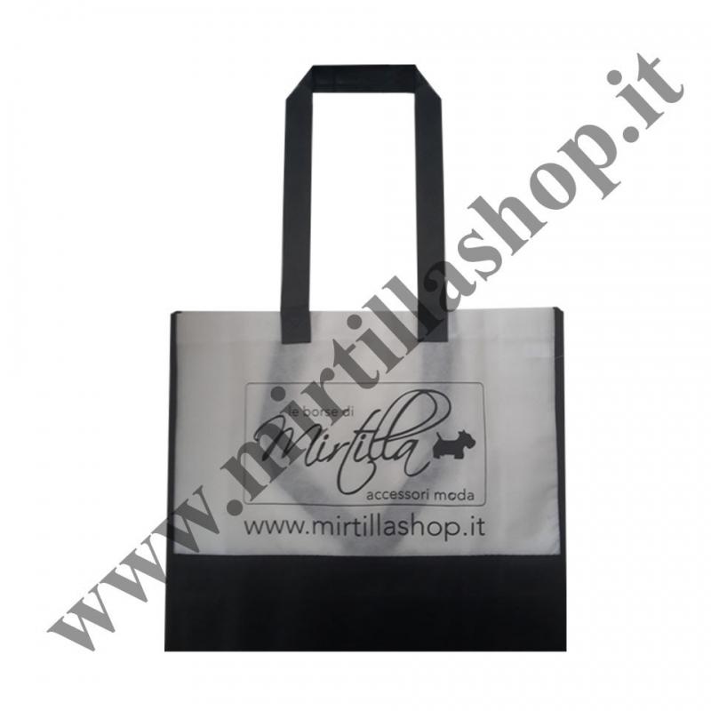 Borsa Shopper Mirtilla