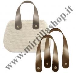 Kit Manici Mbag Pelle metal 50cm