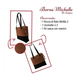 Scheda Tutorial per Borsa Michelle Mirtilla Two