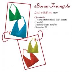 Scheda Tutorial per Borsa Triangolo