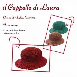 Scheda Tutorial per il Cappello di Laura